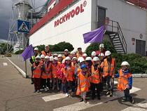 Школьники посетили завод экологичной продукции ROCKWOOL в Балашихе
